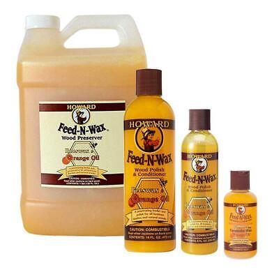 Howard Feed-N-Wax Wood Polish & Conditioner Furniture Feed, Wax and Oil In One