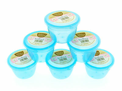 Plastic Pudding bowls with Antimicrobial Properties