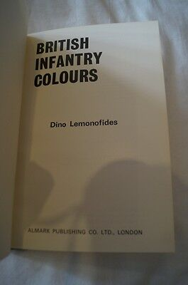 British Infantry Colours Reference Book