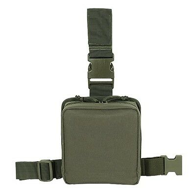 Voodoo Tactical Drop Leg First Aid Pouch Medic EMT EMS First Responders OD Green