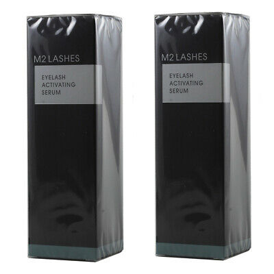 M2 Beauté Lashes - Eyelash Activating Serum für Wimpern 5ml - 2x