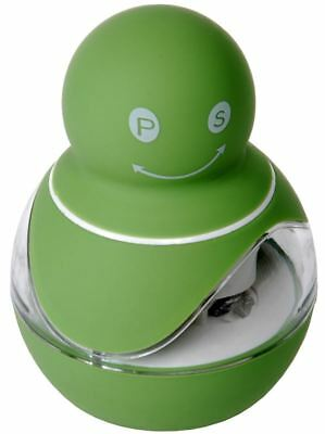 Zuhause - Zippy Soft Touch Duo 2 in 1 Salt and Pepper Mill 8.5cm Green