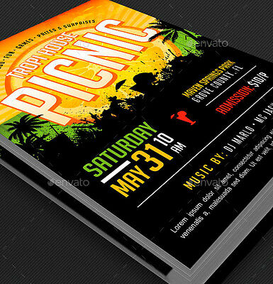 500 Flyer Printing - 5x7 Custom - Full Color - 16pt Thick Stock - Ultra Glossy