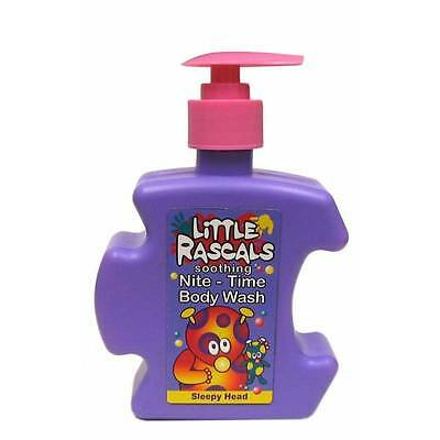 ** Little Rascals Soothing Nite Time Body Wash Night Bath New ** Kids Soap Wash