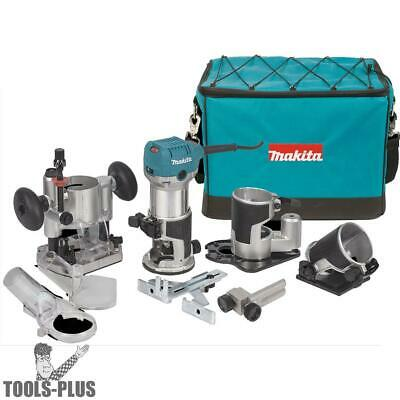 Makita 1-1/4 HP Compact Router Kit RT0701CX3 New