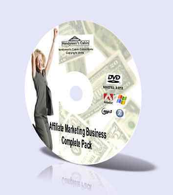 Affiliate Marketing Business Complete Pack - Video Courses, Guides and More! DVD