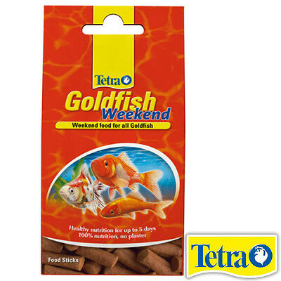 Tetra - Goldfish Holiday Sticks - Weekend Food Sticks 2 pack  9 grams (18g)