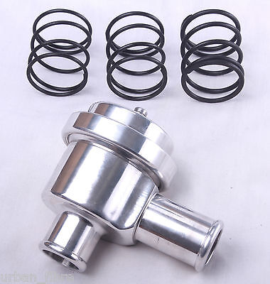 Dump Valve 25mm Aluminium Alloy Silver Fitting Kit Recirculating Blow Off Spring