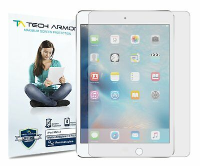 Tech Armor Anti-Glare Matte Screen Protector 3-Pk for Apple iPad Mini