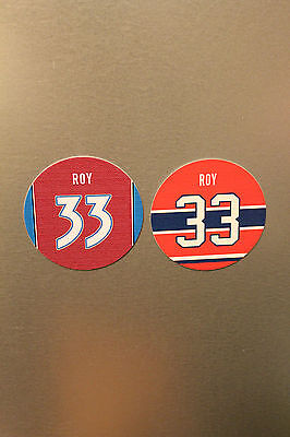 Patrick Roy #33 MONTREAL CANADIENS & COLORADO AVALANCHE Jersey magnets