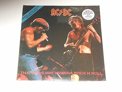 "AC/DC - SEALED 12"" Maxi - That's The Way I Wanna Rock N Roll - 1988 - ACDC"