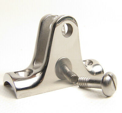 """Rail Hinge, 90° 316 Stainless Steel, For 7/8"""" Rail Tubing, Concave Base, 1 Each"""