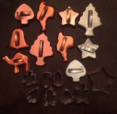 Lot Of 18 Vintage Cookie Cutters
