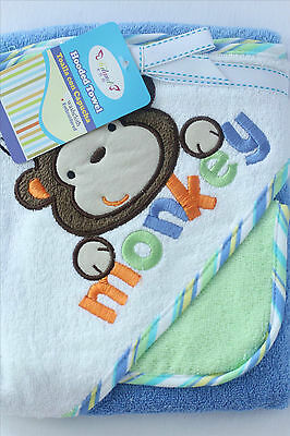 New 100% cotton 350GSM Baby Kid Bath Towel Hooded Towel Embroidered Pattern 3