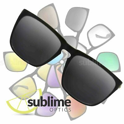 POLARIZED Black (Dark Grey) Replacement Lenses for Electric Knoxville XL