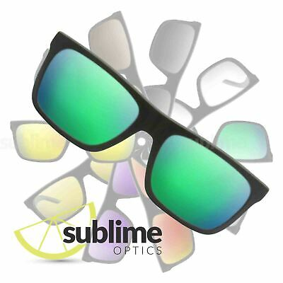 POLARIZED Metallic Emerald Green Replacement Lenses for Arnette Dropout