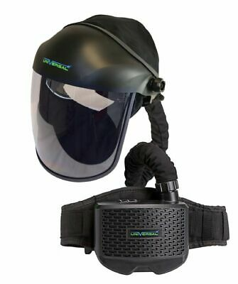 Horizon SWP Grinding Screen Visor with Momentum PAPR Air Fed System