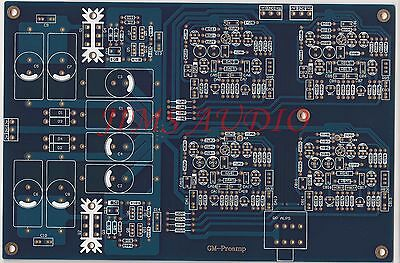 JFET input high speed stereo preamplifier PCB Mimesis 27 !