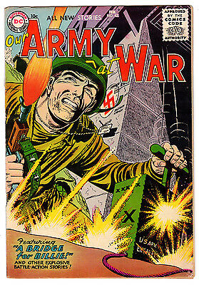 Our Army At War #43 4.0 Off-White Pages Silver Age
