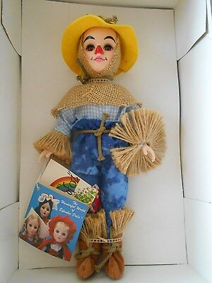 "Effanbee ""Straw Man"" Doll, BNIB, #1158, Mint, 11"", Vintage ""Wizard Of Oz"""