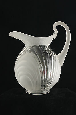 UNUSUAL CAMBRIDGE GLASS CAPRICE CRYSTAL ALPINE # 178 80 Oz DOULTON PITCHER