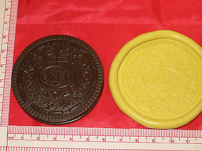 Chocolate Sandwich Cookie Silicone Mold Polymer Clay Resin Food 153 Cake