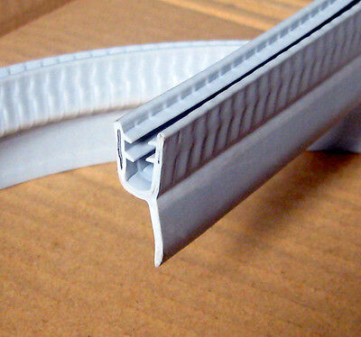 1950mm Extra Long bath shower rubber seal for 4-6mm glass screen door panel