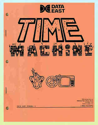 Time Machine, Data East Pinball Manual
