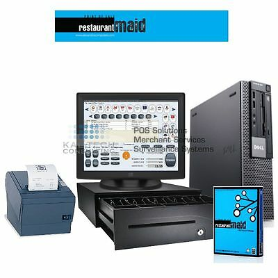 Restaurant Point Of Sale Complete System, Restaurant Bar with Maid Software I3