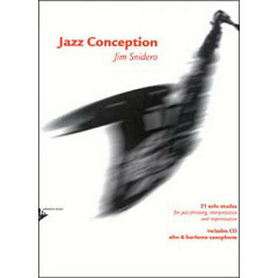 Advance Music Jazz Conception for Alto & Baritone Saxophone Book & CD