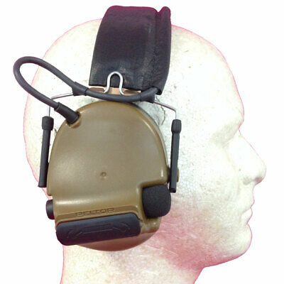 3M Peltor ComTac III Hearing Protection Headset - Coyote Brown