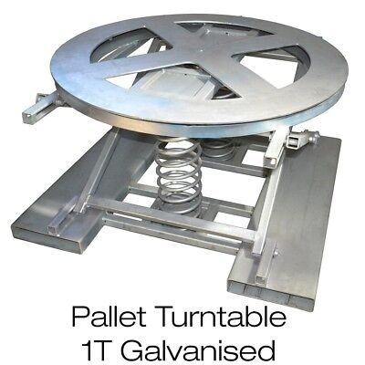 Pallet Loader Carousel Positioner Pallet Table Easy Loader Self-Leveling