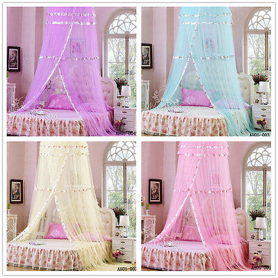 Classic Mosquito Net/Bed Canopy Single Queen Double King Size Bed Resort Style