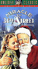Miracle on 34th Street (VHS, 1993, Colorized) - Color Version - NEW
