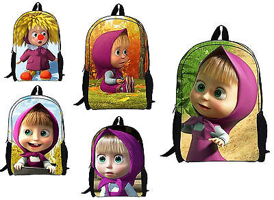 Masha e Orso Zaino Scuola Asilo Tempo libero Backpack Masha and the Bear 910201