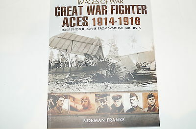 WW1 British French German Fighter Aces 1914-1916 Reference Book