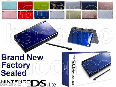 BRAND NEW NIB Factory Sealed Nintendo DS Lite NDSL Handheld Game Console System