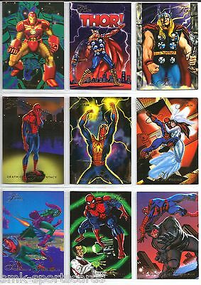 SPIDER-MAN DEATH OF GWEN STACY 1994 Flair Marvel #32 comic trading card