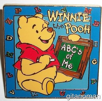 Disney 12 Months of Magic - ABC's Of Me Winnie the Pooh with a Chalkboard Pin