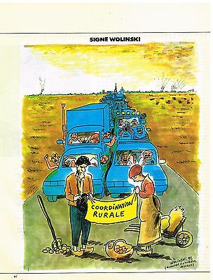 Other Breweriana Publicité Advertising 1992 Dessin Signe Wolinski
