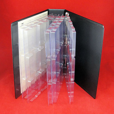 5 Page Eagle Slab Album for Certified Coin Slabs Holds Up to 45 PCGS, NGC Slabs