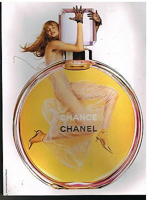 Publicité Advertising 2004 Parfum Chance par Chanel