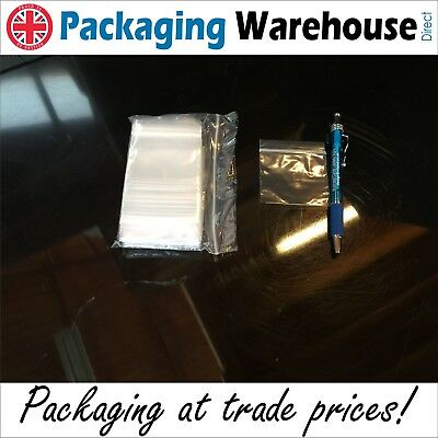 Grip Seal Resealable Clear Polythene Bags All Sizes Minigrip Self Seal Free P&p