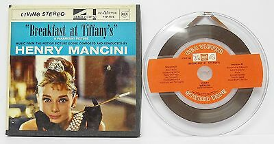 HENRY MANCINI / BREAKFAST AT TIFFANY'S SOUNDTRACK REEL TO REEL TAPE TESTED