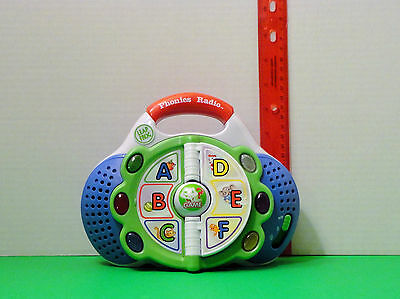 LEAPFROG ELECTRONIC PHONICS RADIO LEARN AND GROOVE LETTERS AND MUSIC LEARNING