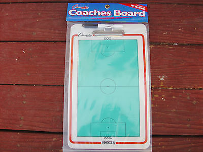 """Soccer Coaches Clipboard, New Two Sided 10"""" x 16"""","""