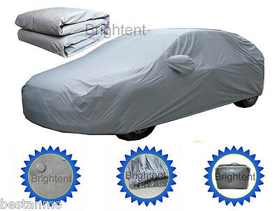 2 Layer Heavy Duty Waterproof Car Cover Cotton Lining Scratch Proof BCC0P