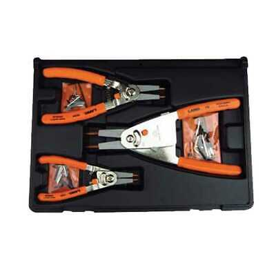Lang Tools 3 Piece Quick Switch Retaining Ring Pliers Set 1465 New
