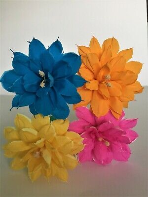 Large bridal bouquet mexican crepe paper flowers we make special mexican crepe paper flowers set of 4 bi color we make special orders mightylinksfo