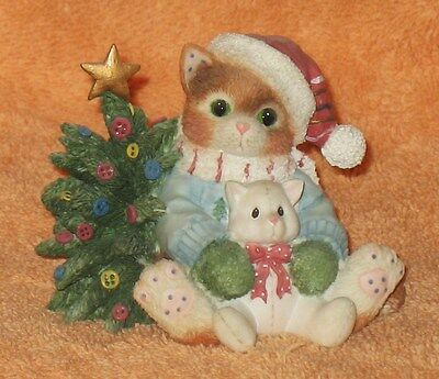 "L@@k Calico Kittens"" We Wish You A Merry Christmas"" Mnb"
